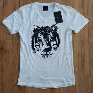 ZARA MAN Embroidered Tiger Tee